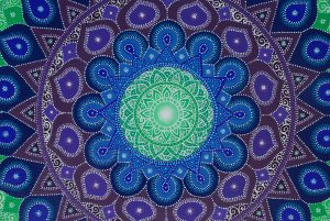 Galaxy Mandala, painting, mandala, art, sunshine, sunshine art