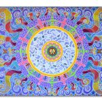 Unity, painting, mandala, art, sunshine, sunshine art