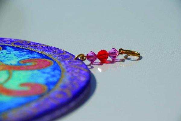 Sun Silk Painting, painting, mandala, art, sunshine, sunshine art