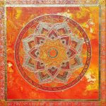 Passion, painting, mandala, art, sunshine, sunshine art