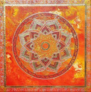 Passion, painting, mandala, art, sunshine, sunshine art