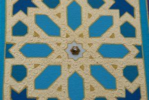 Alhambra Dreams - painting, mandala, art, sunshine, sunshine art