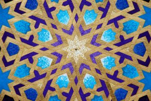 Alhambra Dreams - painting, mandala, art, sunshine, sunshine art