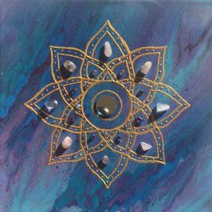 Harmony Mandala Sunshine Art