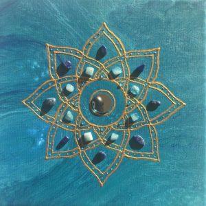 Tranquillity Mandala Sunshine Art
