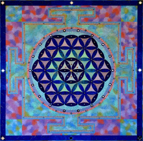 Flower of Life Silk
