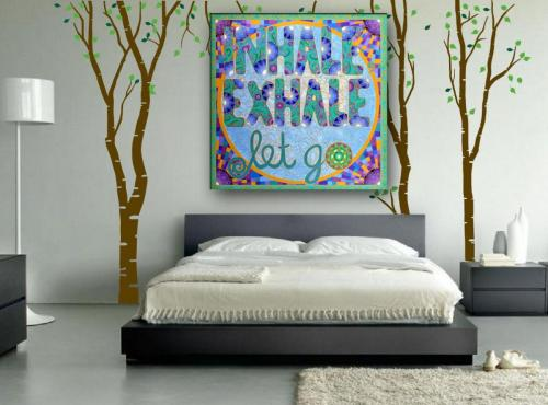Inhale, Exhale, Let Go room
