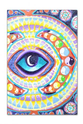 Opening of the Third Eye Mandala close up