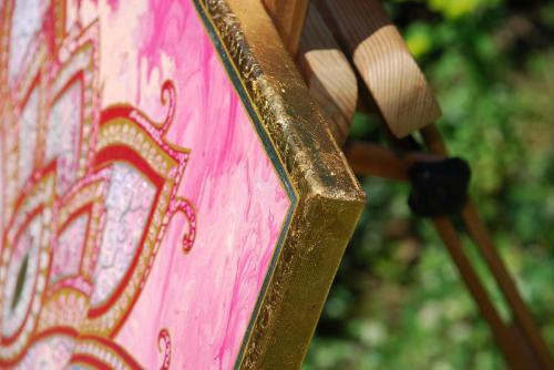 Pink Lotus close up