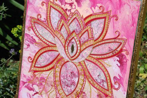 Pink Lotus side view